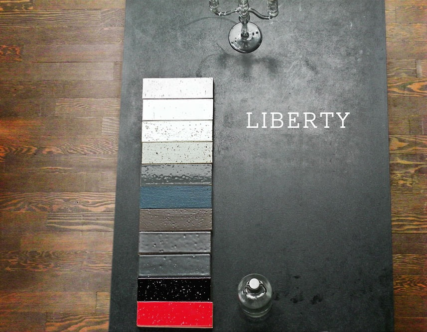 liberty glazed bricks from clé